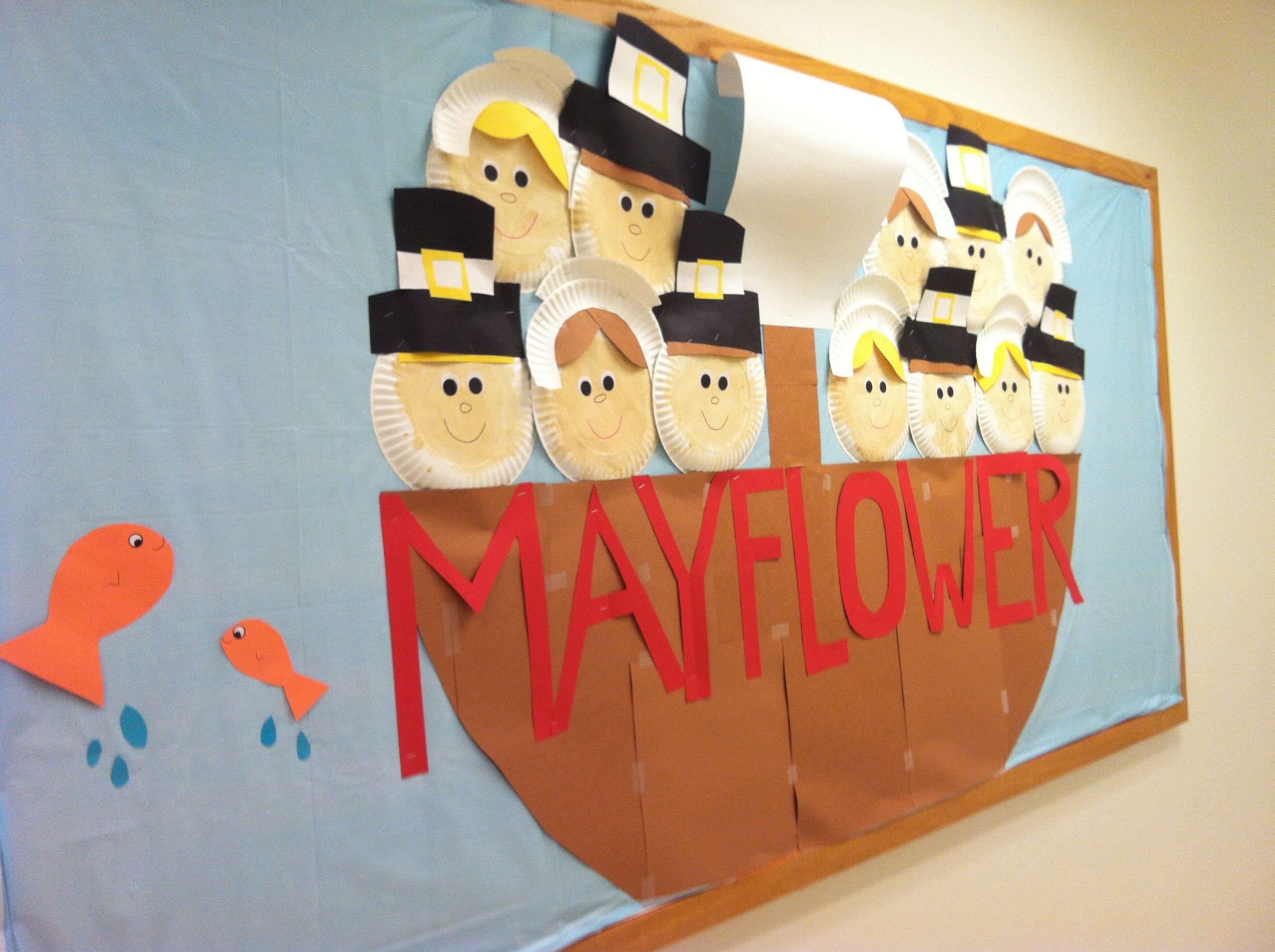 Mayflower Bulletin Board