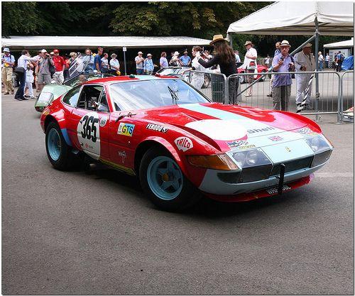 1972 Ferrari 365 GTB/4 Daytona LM. Goodwood Festival Of Speed 2010