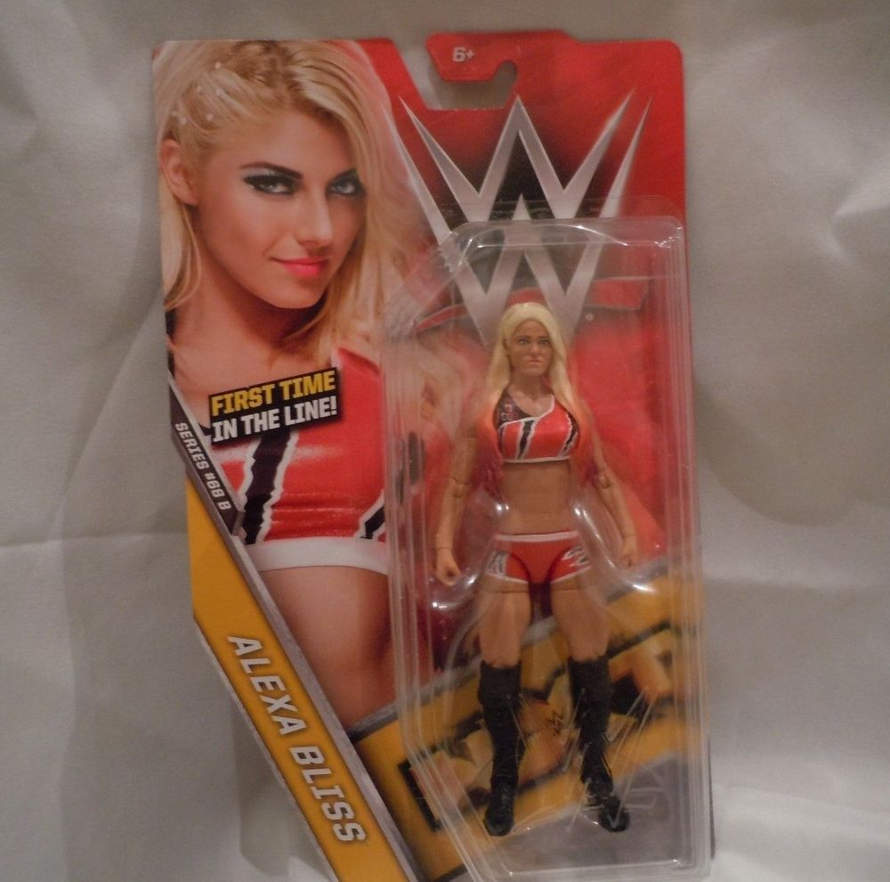 Alexa Bliss Series 68 B First Time In The Line Basic Line Action ...