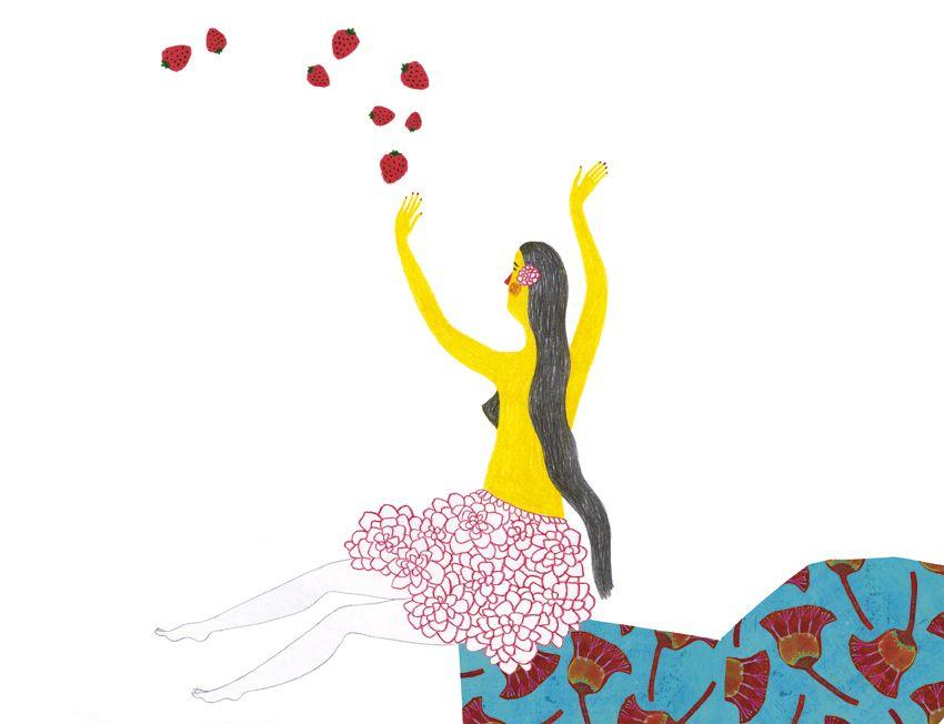 Ilustracion De Mariona Cabassa Para La Antologia De Ruben Dario Una Sed De Ilusiones Infinitas Edelvives Publica Esta Obra E Ilusiones Antologia Ilustraciones