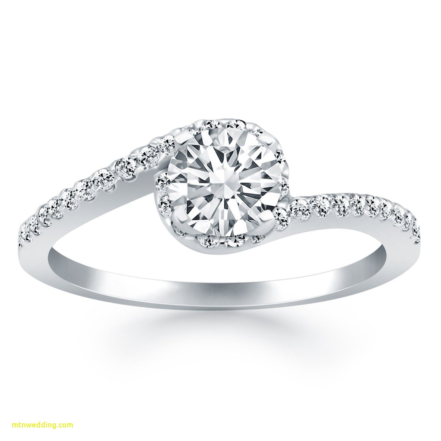 Lovely Curved Wedding Band With Solitaire Engagement Ring Check More At Http Mtnwedding Com Wedding Ring Engagement Rings Curved Wedding Band With Solitaire E