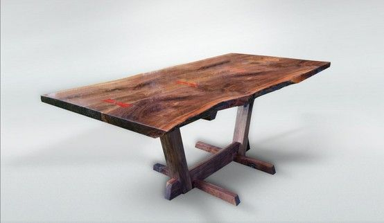 Gorgeous Custom Table, 9'-10' can change base, $4,400 delivered ! lead time is 3-4 weeks .