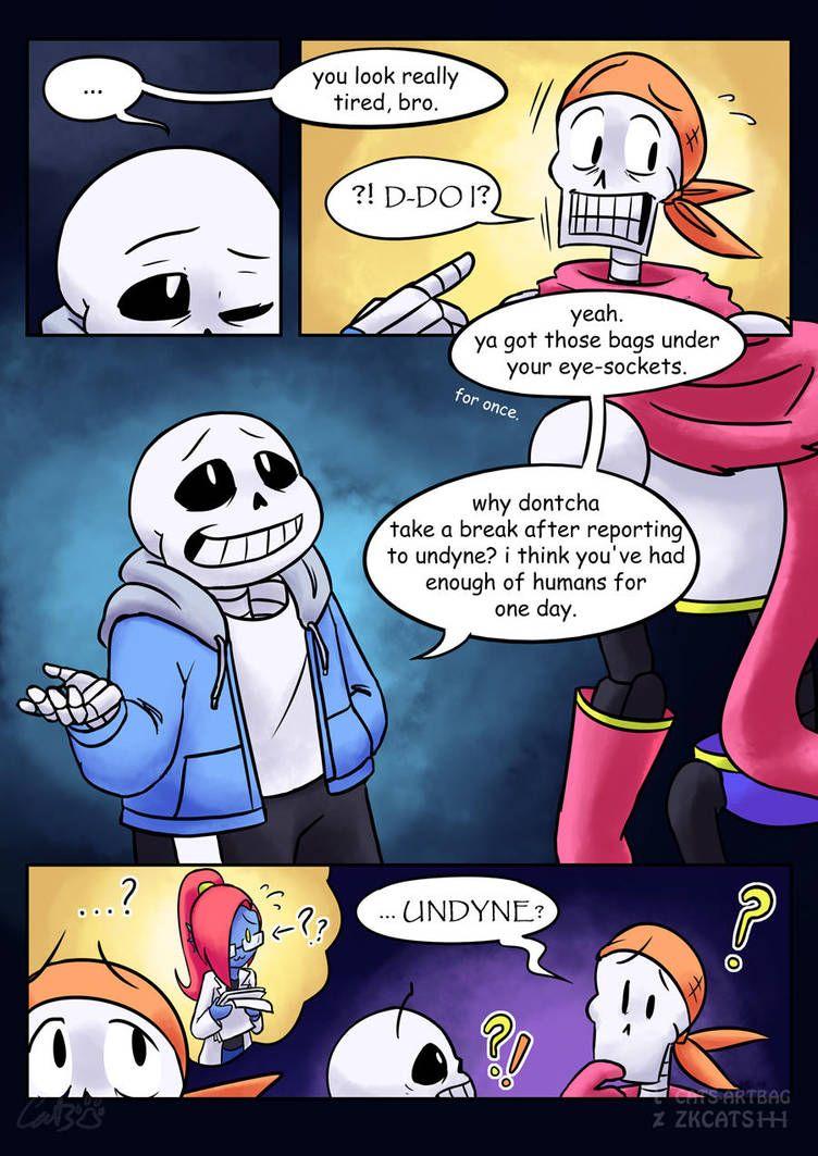 Underfell - Page 206   Underfell comic, Undertale