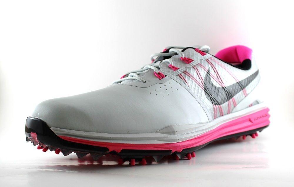 Nike Men's Lunar Control 3 Golf Shoes 704665 004 Platinum ...