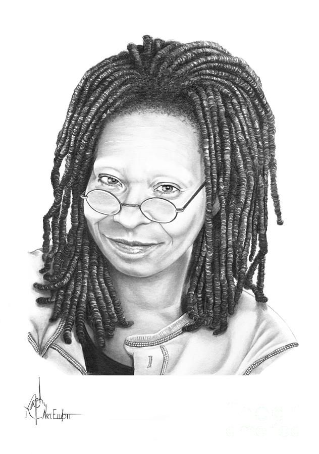 whoopi goldberg coloring pages - photo#3