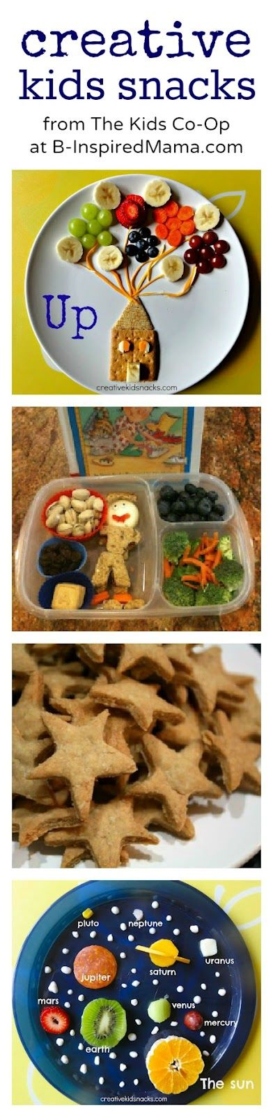 Check out these creative lunch ideas from the mamas of the Kids Co-Op at B-InspiredMama.com!
