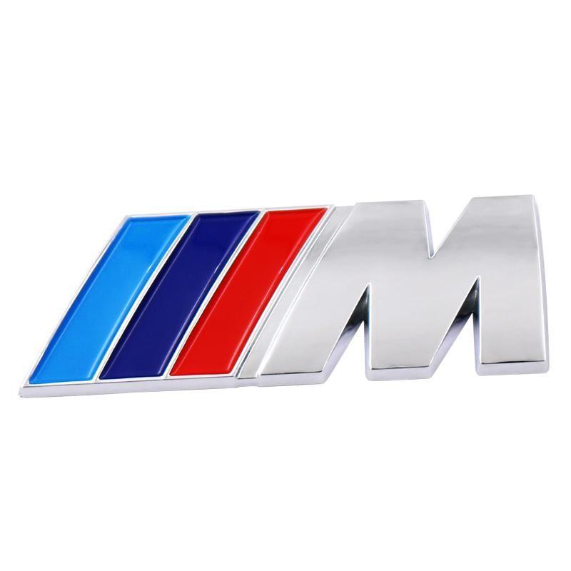 Car Styling Abs Car M Power Performance Badge Fender Emblem Sticker