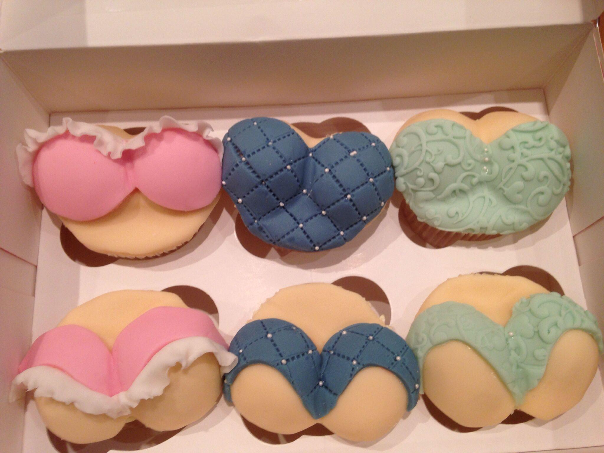 how to make boob cupcakes