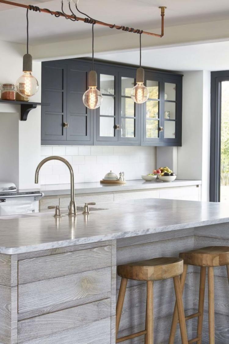 60 rustic wooden kitchen islands design inspirations