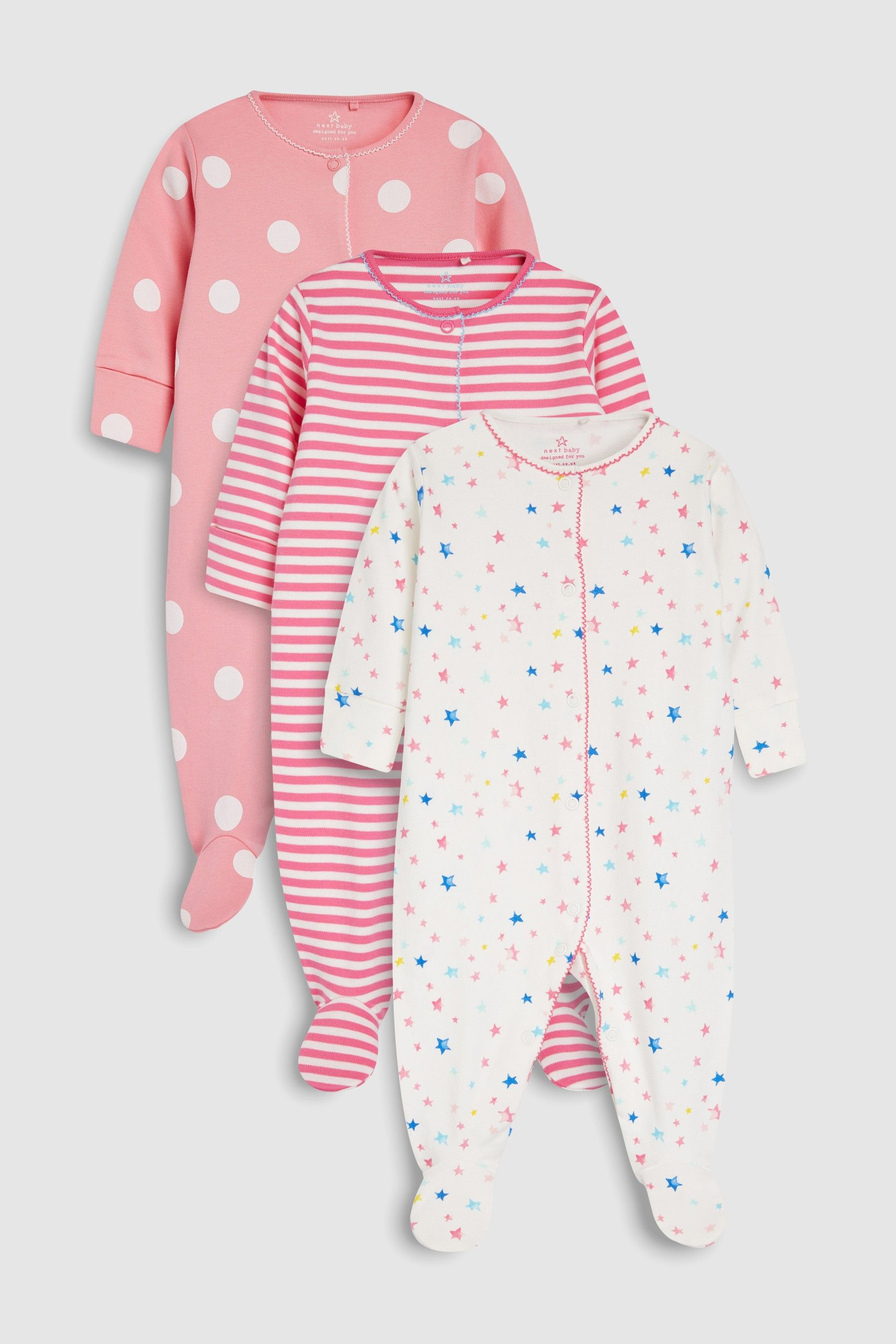 2 Pack Girls Long Sleeved Tops with Mummys Little Star//Cute detail