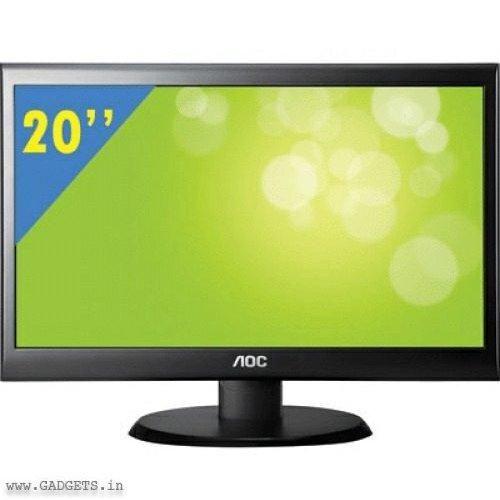 Aoc Monitor 20in Led Aoc E2050s Unique Gadgets