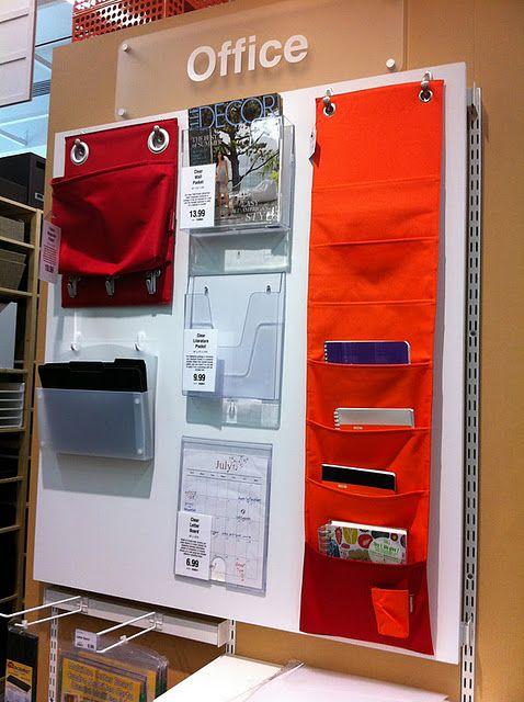 great vertical organization Organize Your Home Pinterest