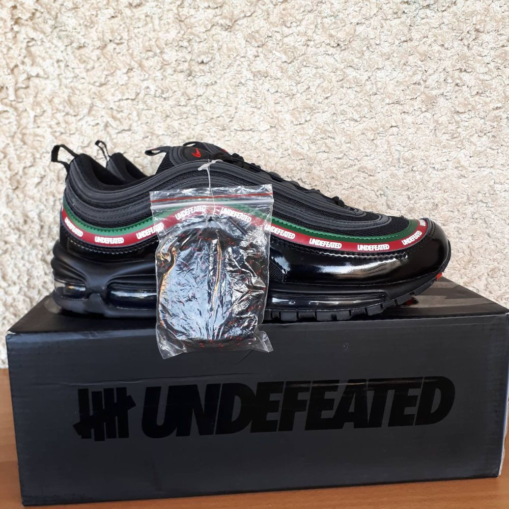 eBay Sponsored) NEW NIKE AIR MAX 97 UNDEFEATED Black Size 10