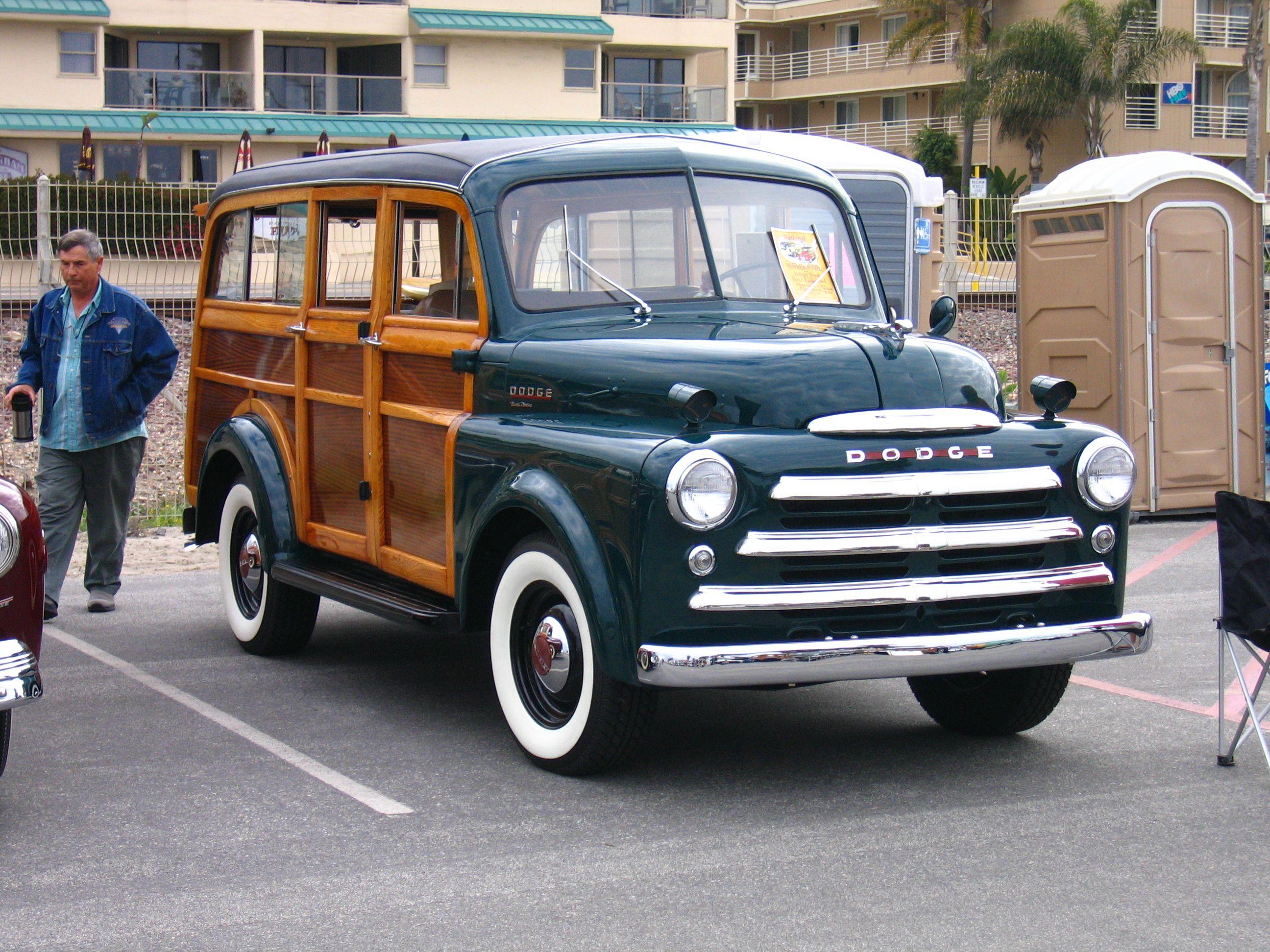 Dodge power wagon woodie