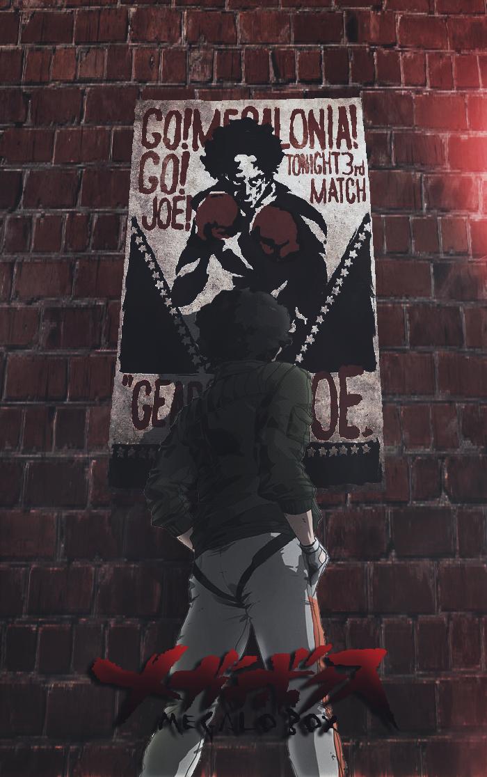 Megalo Box Poster By Theamazingblackman Anime Characters Anime Wallpaper Superhero Wallpaper
