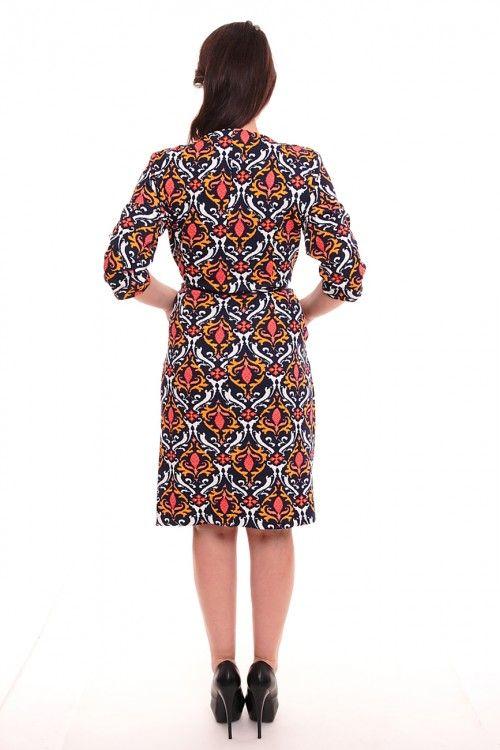 Платье А1028 Размеры: 42-56 Цена: 600 руб.  http://optom24.ru/plate-a1028/