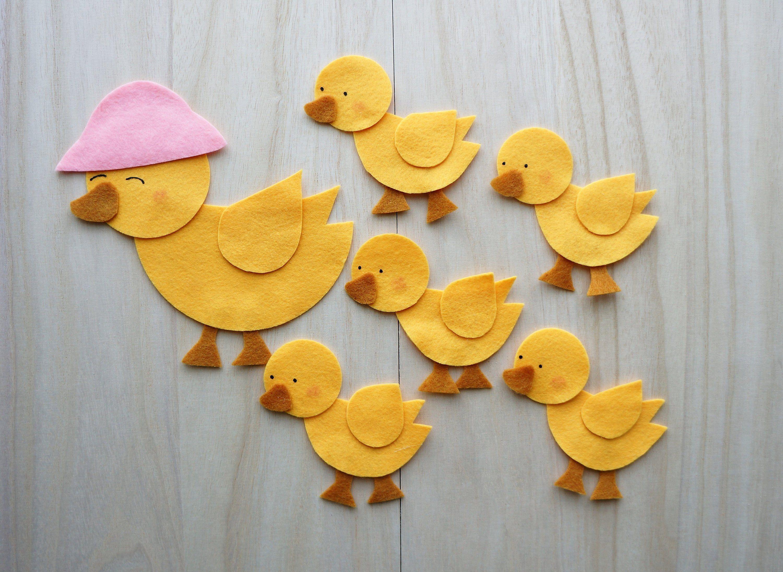 Five Little Ducks Felt Story Felt Stories Flannel