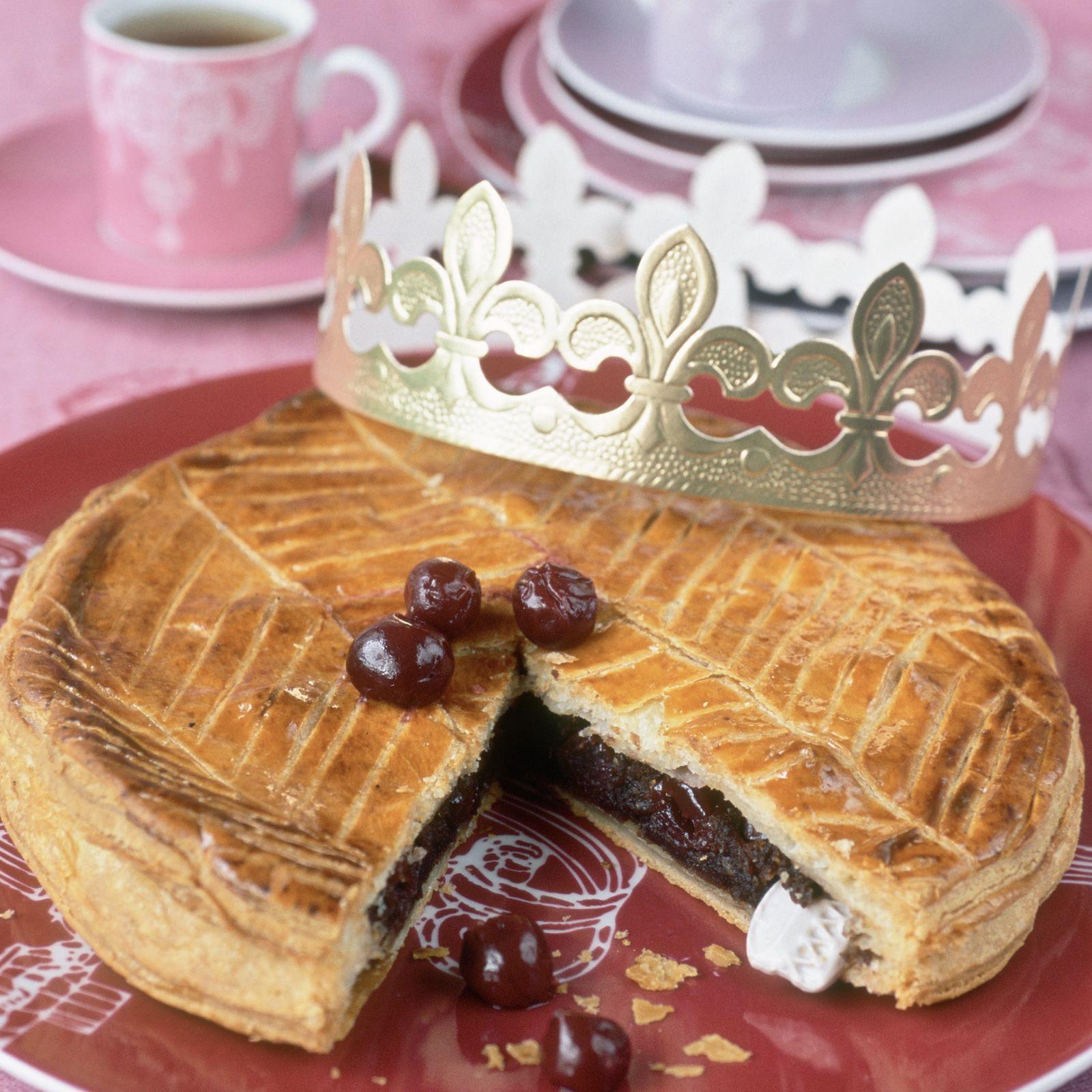 Découvrez la recette Galette au chocolat et aux cerises sur cuisineactuelle.fr.