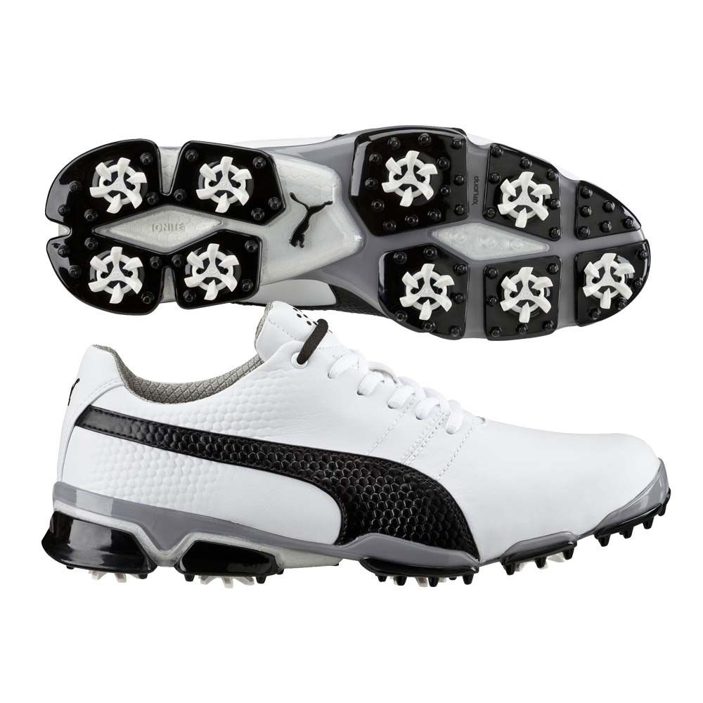puma golf shoes. puma titantour ignite golf shoes white-black ss16