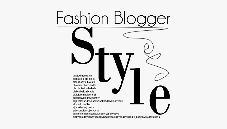 Fashion Blogger Style Magazine Text Png Hd Transparent Png Is Free Transparent Png Image To Explore More Similar Hd Im Png Text Fashion Magazine Fonts Text
