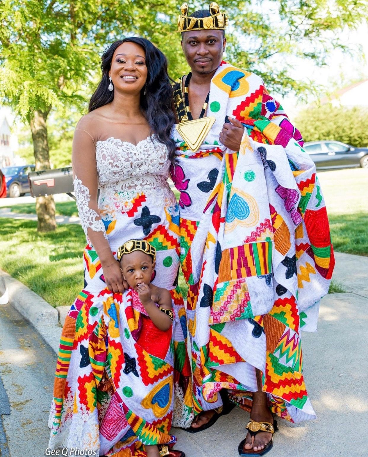 Ghanaian Traditional Wedding: FASHION And Traditional Styles In 2019