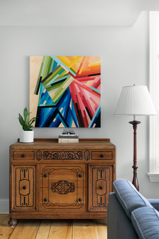Gallery Jennifer Mcnally Designs Bold Art Interior Work Design