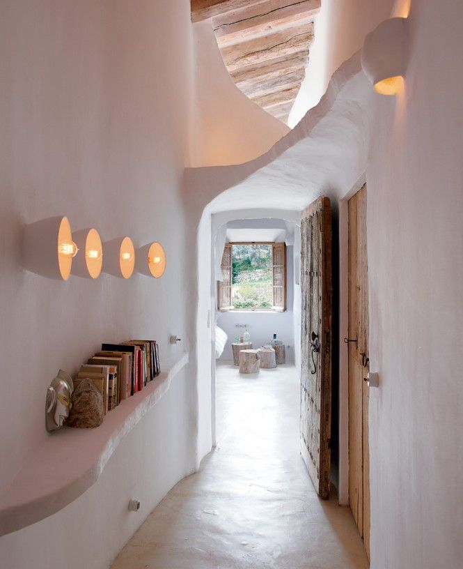 Coastal cave house of french designer alexandre de betak idea for engender your ceiling falls