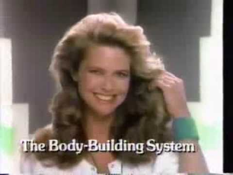 Christie Brinkley Commercial >> 1985 Christie Brinkley Prell Shampoo Conditioner Commercial