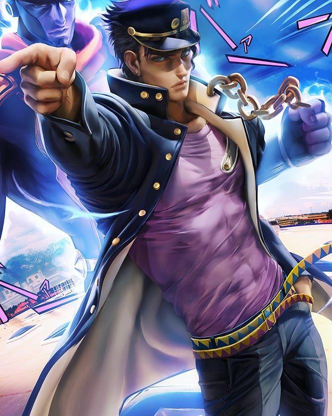My first character , Jotaro ! been a