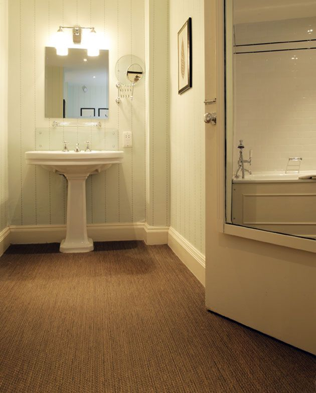Perfectly Practical And Stylish Bathroom Floor 'Savannah