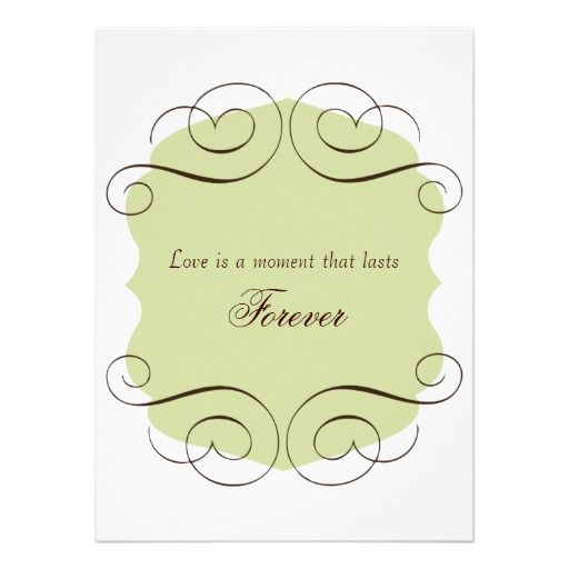 Wedding Invitation Thoughts: Wedding Invitations With Love Quote