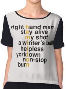 5566fca476d Hamilton Musical  T-Shirts
