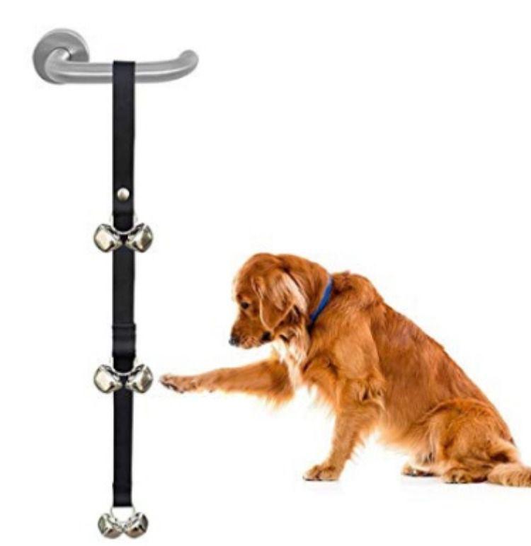 Zellar Dog Puppy Doorbells Length Adjustable Loud Dog Puppy Potty