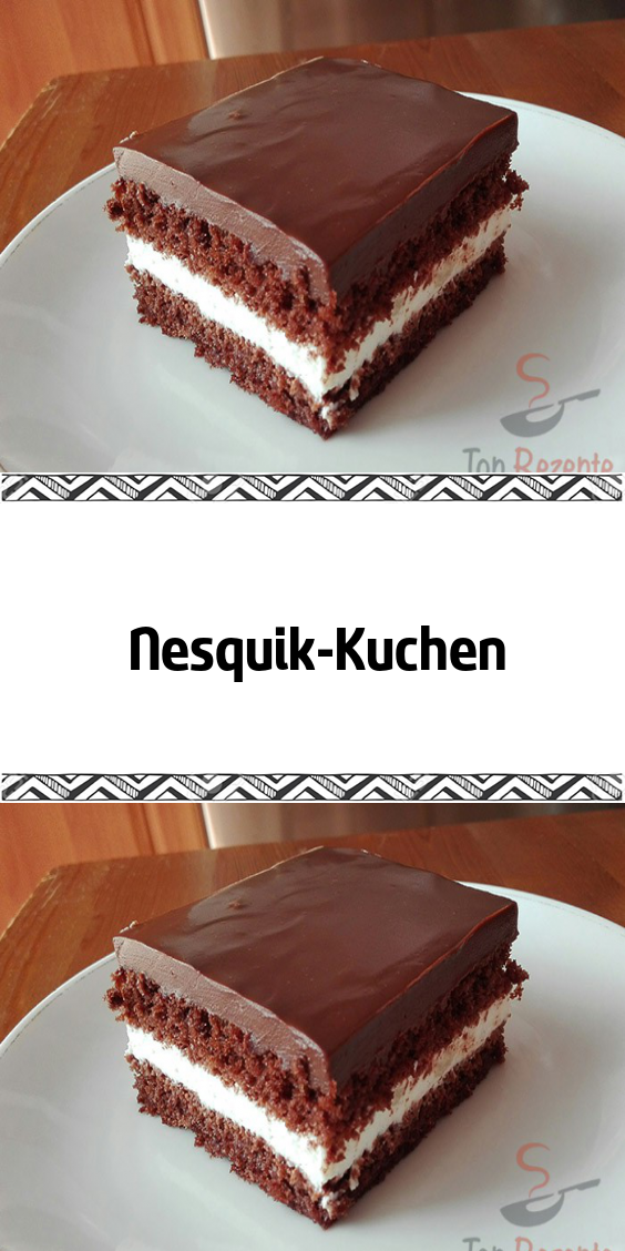 Nesquik-Kuchen #bananapie