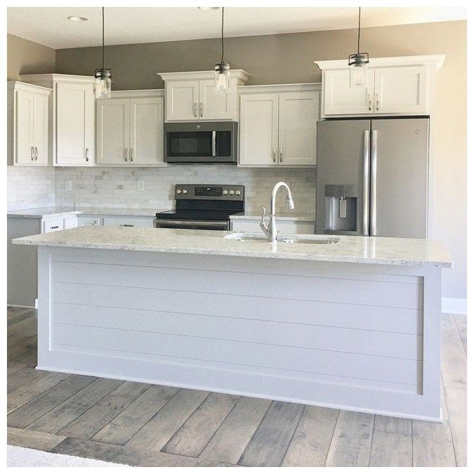 46 affordable kitchen island design ideas 21 #islandkitchenideas