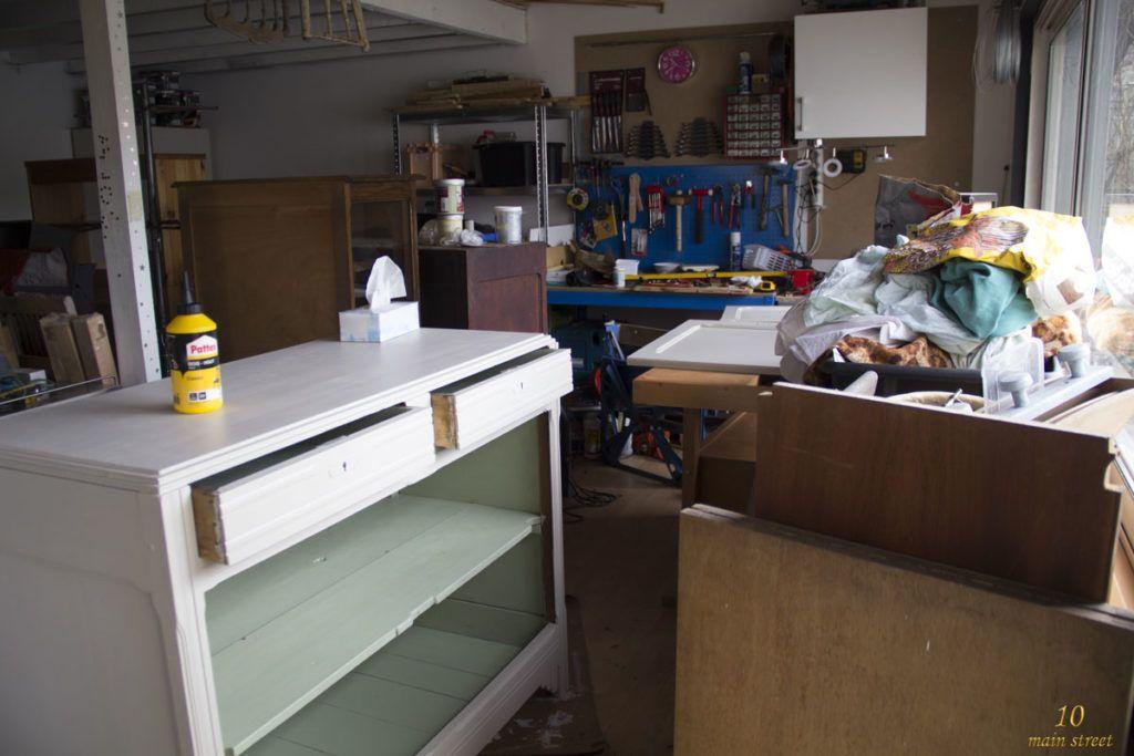 Renovation D Un Vieux Buffet Art Deco Bien Abime La Partie Basse Relooking Meuble Relooker Meuble Renovation Meuble