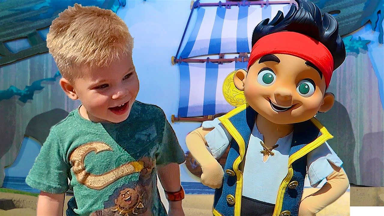 Meeting Jake And The Neverland Pirates Disney World Meet And