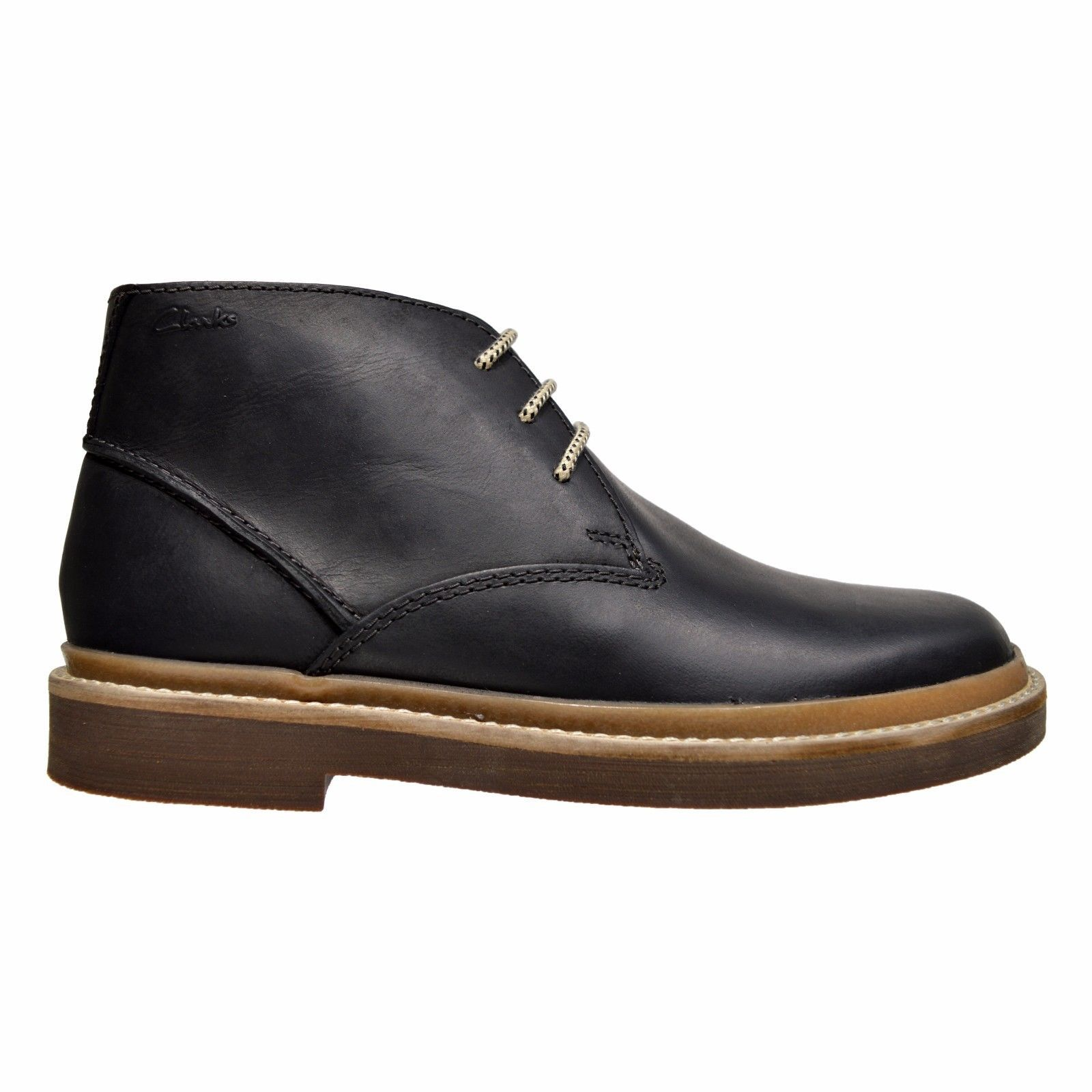 Clarks Bushacre Ridge Men's Casual Leather Chukka Boot Shoes