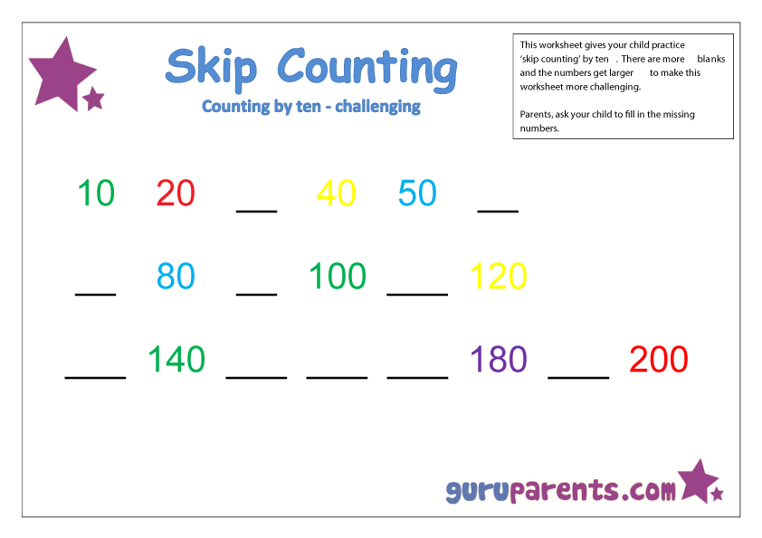 Worksheets Counting By Tens Worksheet 1000 images about counting by tens on pinterest valentines cut and paste activities