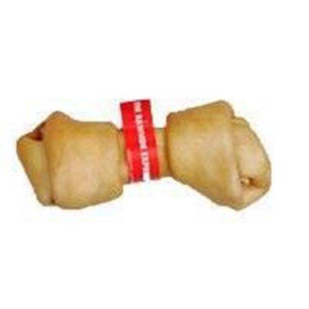 The Rawhide Express Natural Knot Recipe Bone Dog Treat 10 11 Inch