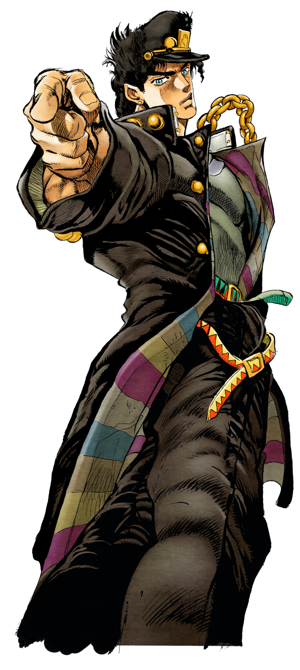 Image result for jotaro kujo jojo 3d in 2018 pinterest anime personnages and manga - Image de personnage de manga ...
