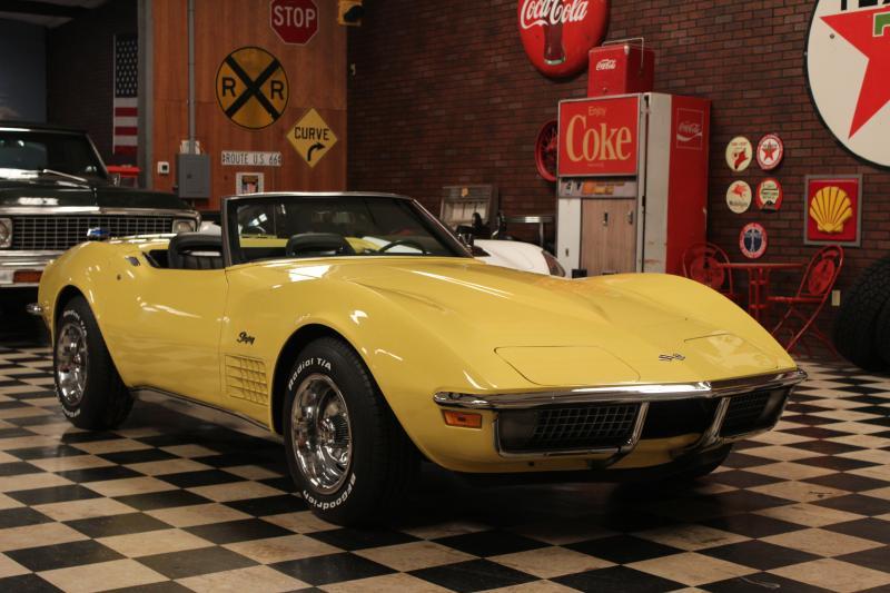 1970 Corvette Convertible For Sale In Alabama 1970 Corvette Convertible 350 350 Corvette Convertible Corvette Yellow Corvette