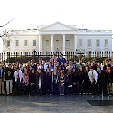 Every year Eighth grade students visit Washington D.C. to learn more about our nation.  Wouldn't you like to go too?