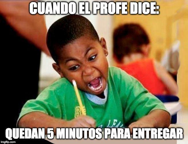 Meme De Los Examenes Del Colegio Memes De Estudiantes Tareas Divertidas Para Ninos Memes Escolares