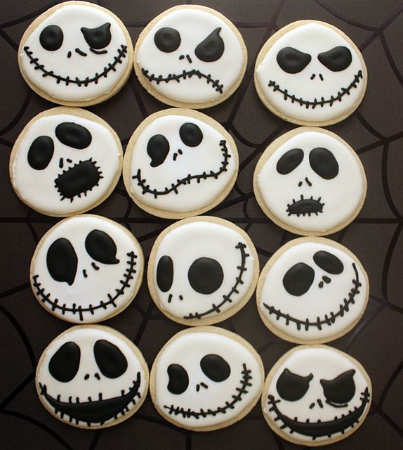 Many faces of Jack Skellington
