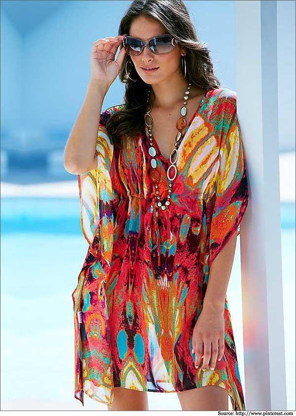 3fdee879a6 10 Kaftans For Summer | Kaftan Tops, Kaftan Dresses, Beach Kaftans ...