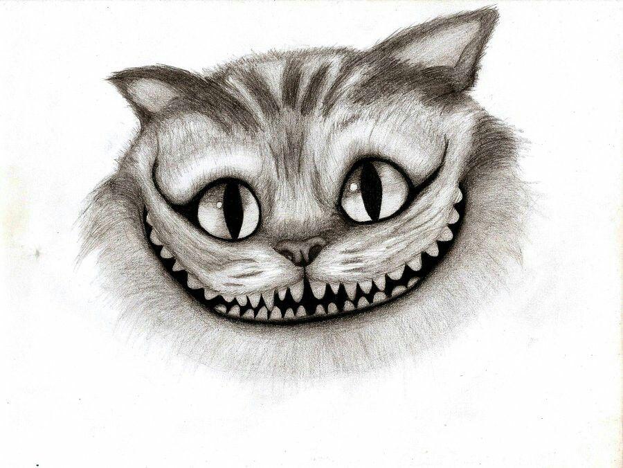 El gato sonriente | dibujo y pintura | Pinterest | El gato sonriente ...