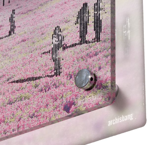 Visions, print on plexiglass by Archisbang | debou