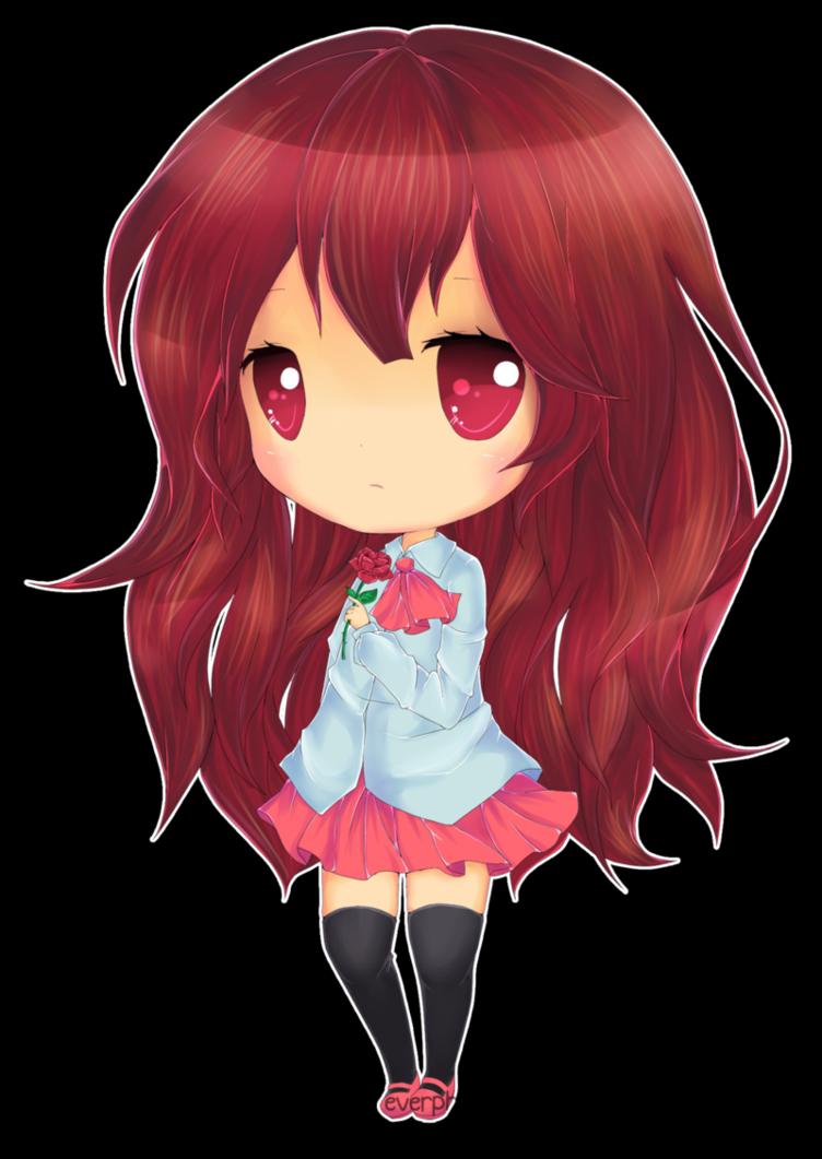 Chibi coloured by Yeleena Chibi, Art, Anime chibi