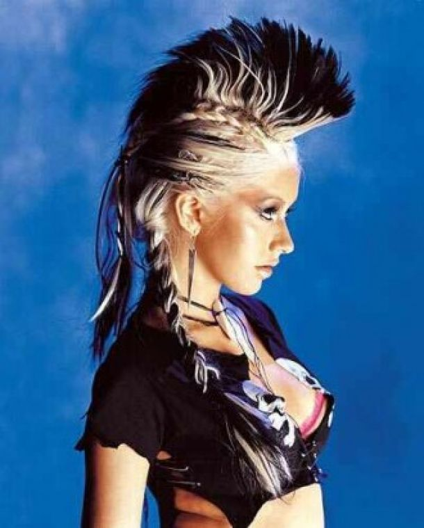 Different Punk Hairstyles For Girls With Long Hair Styles - Free Download Different Punk Hairstyles For Girls With Long Hair Styles #13171 With Resolution 330x411 Pixel   KookHair.com
